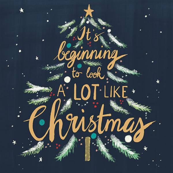 A lot like Christmas