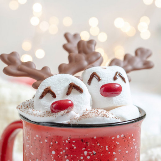 Reindeer hot chocolate