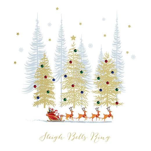 Santa's Festive Sleigh