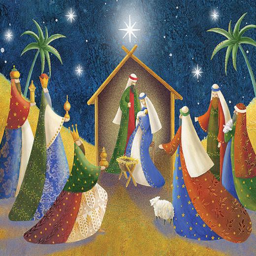 The Nativity at Christmas
